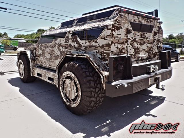 When Hunting Big Game, Drive This Thing