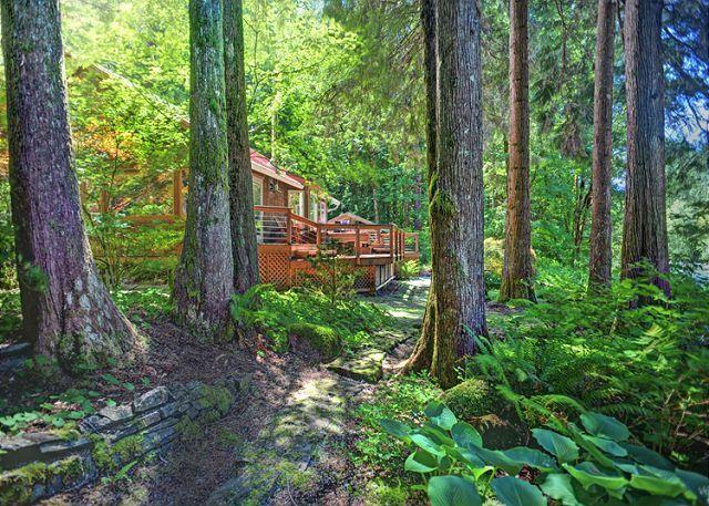 cabins ha fi hood mt tub rentals wi cabin free romantic property streamside restored hot