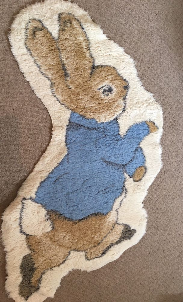 Peter Rabbit Beatrix Potter Rug Mat