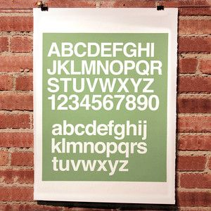 Helvetica Seafoam now featured on Fab.