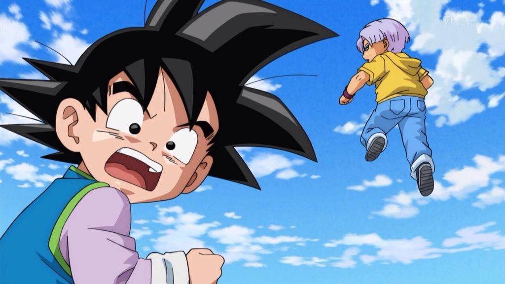 Dragonball Super Arte De Anime Goten Y Trunks Dragones