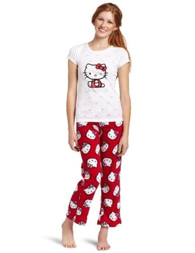 d0a9b4c82 Cute Red and White Hello Kitty Pajamas | Kawaii Pajamas & lounge ...