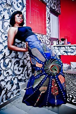 The long African print skirts is a style that I have seen most ladies rocking this trend in different events also while looking around diffe...