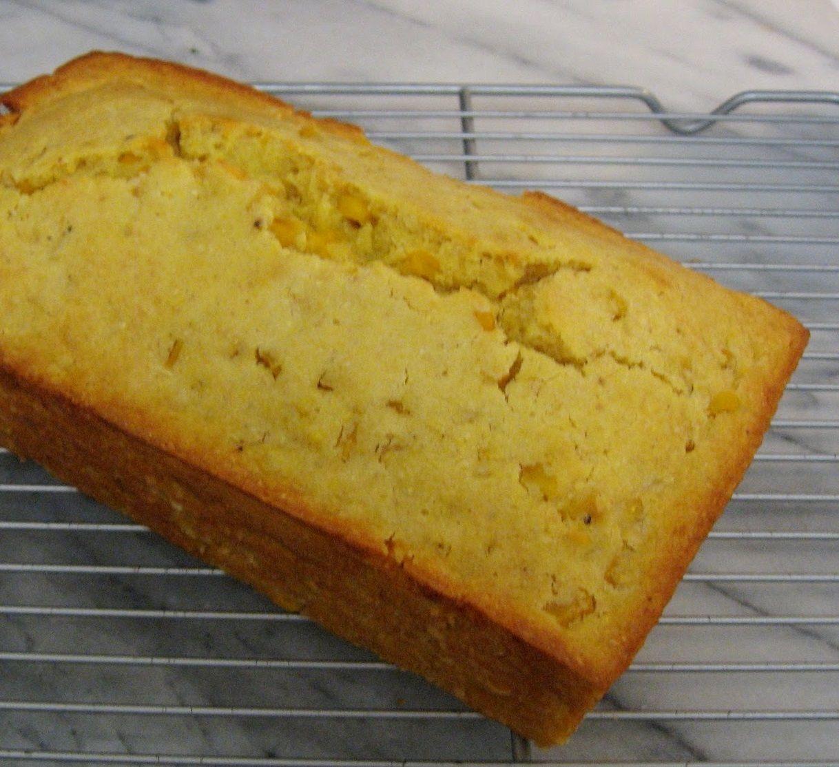 corn bread loaf