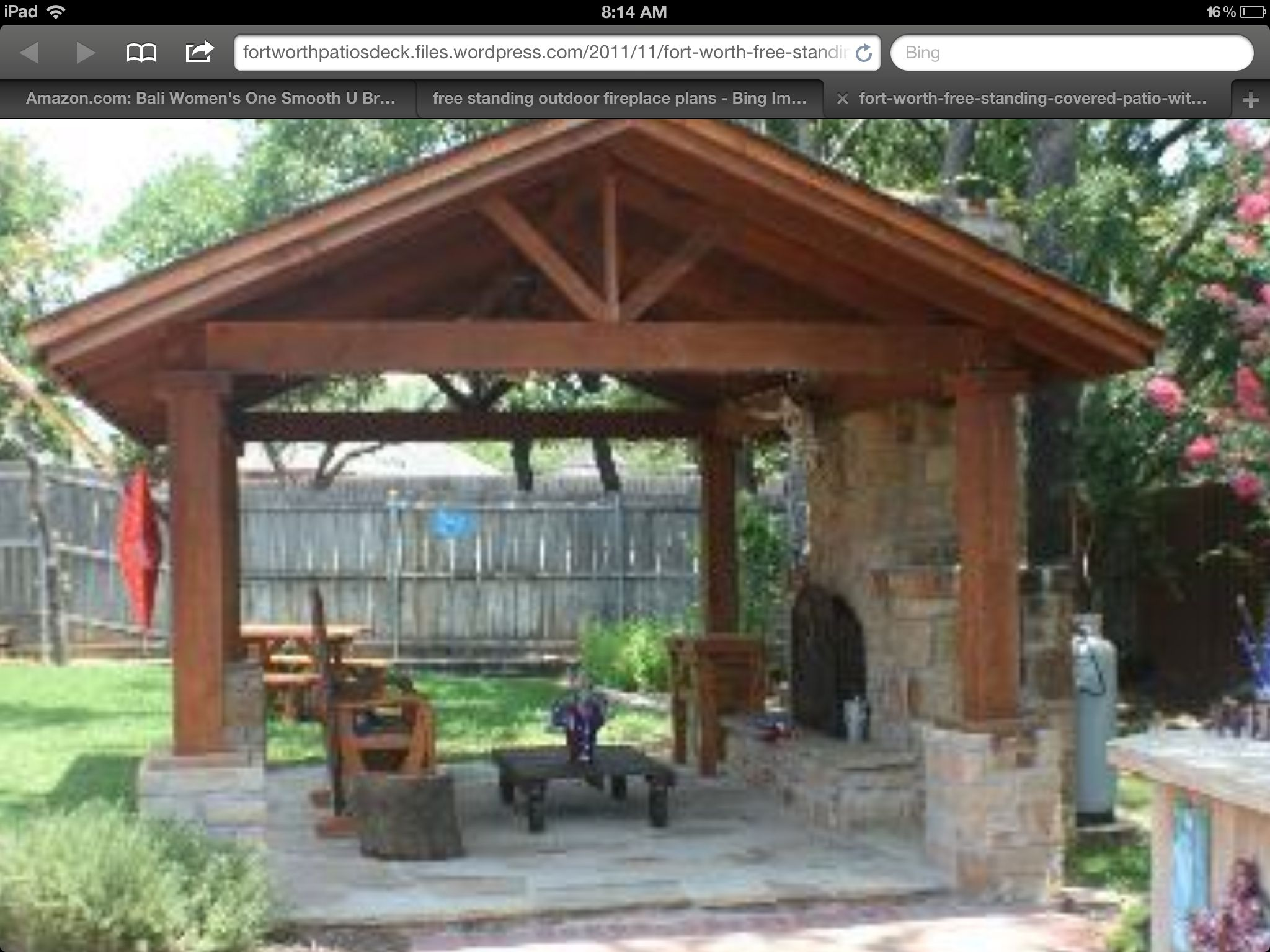 An Outdoor Room To Go With Deck Backyard Patio Outdoor Covered Patio Covered Patio Design