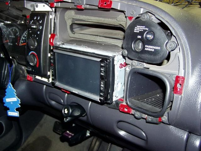 Double Din In 2nd Gen Dodge Cummins Diesel Dodge Cummins
