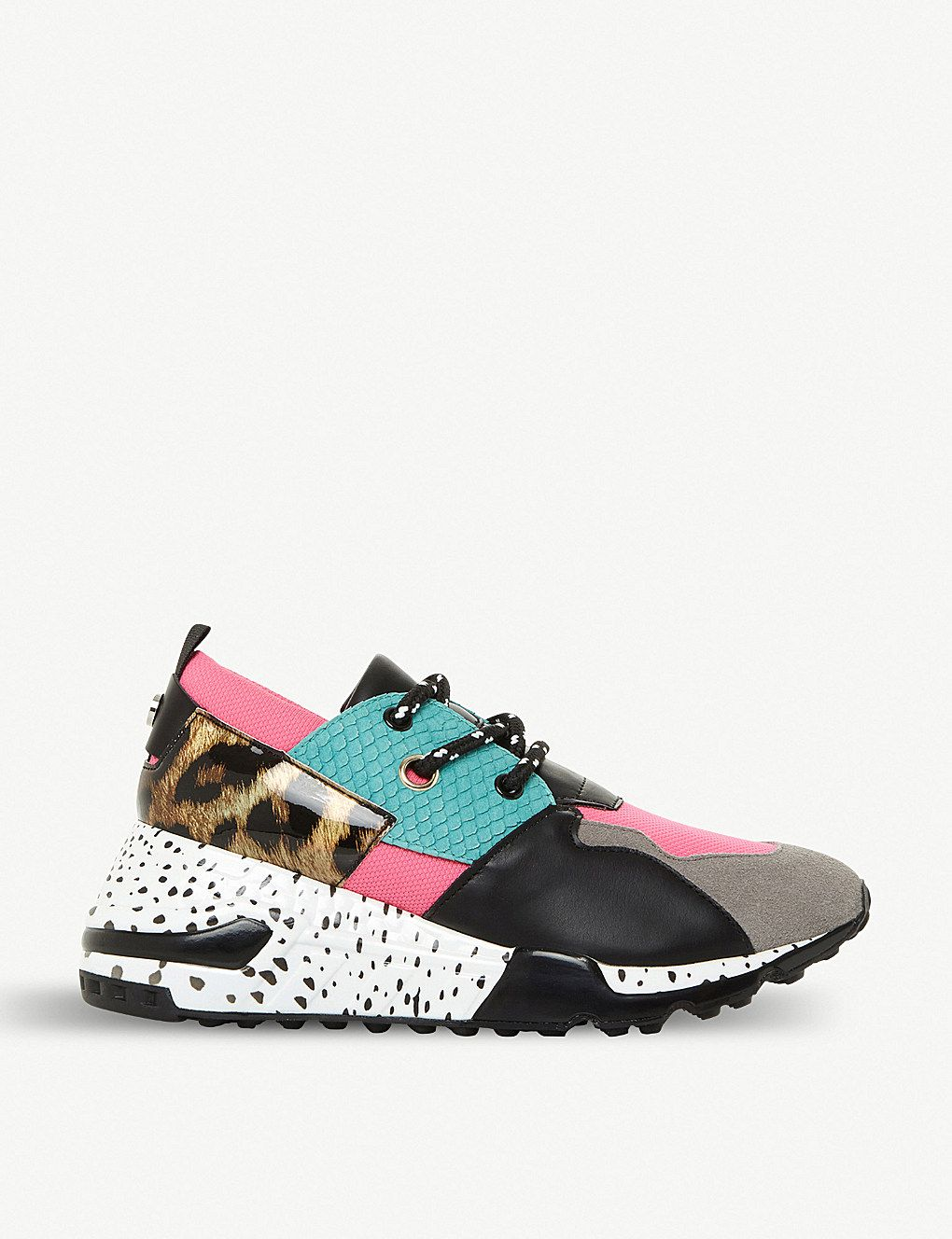 609d865e331 Cliff multi-coloured chunky-sole trainers in 2019 | Fashions ...