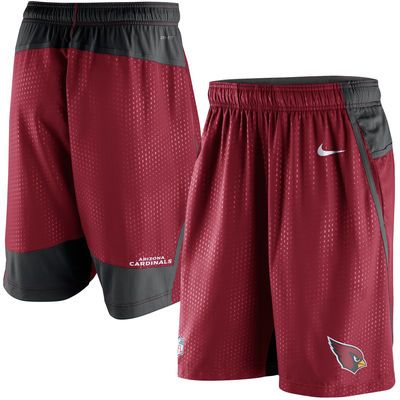 ARIZONA CARDINALS NIKE Team Issued Red NFL Football Shorts