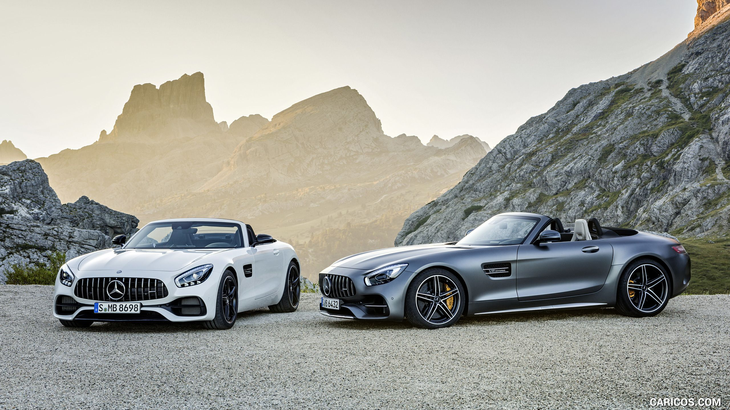 2018 Mercedes‑AMG GT and GT C Roadsters