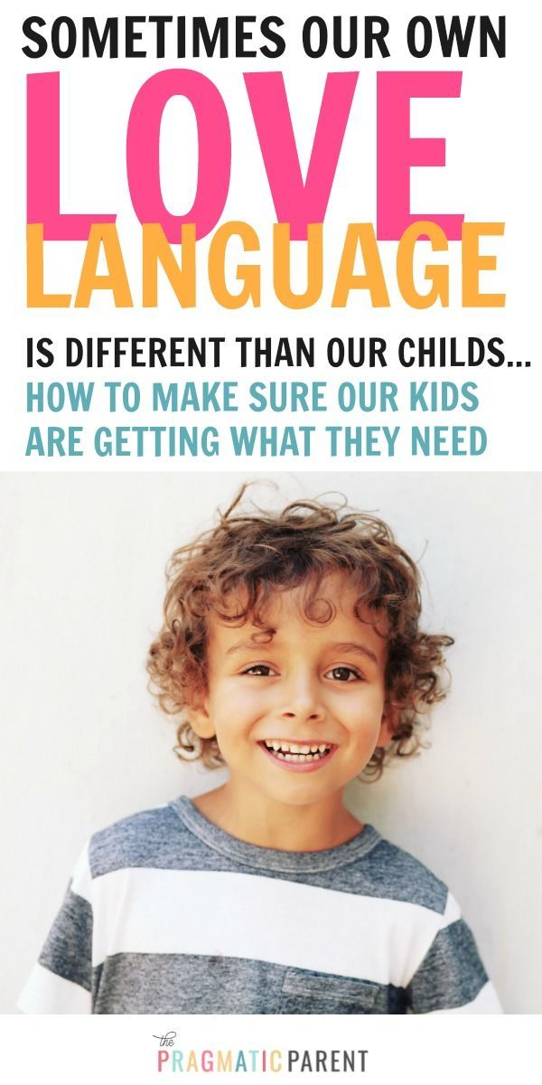 Whats Your Childs Love Language The 5 Love Languages Of -2582