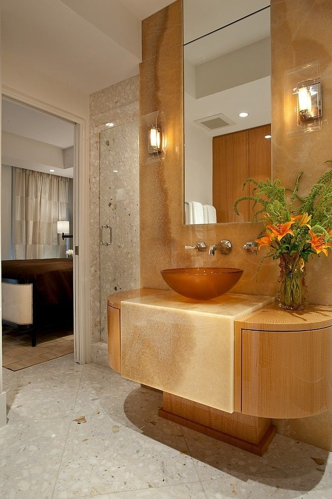 Palm Beach Penthouse By Cindy Ray Interiors Palm Beach Penthouses - Bathroom vanities palm beach county