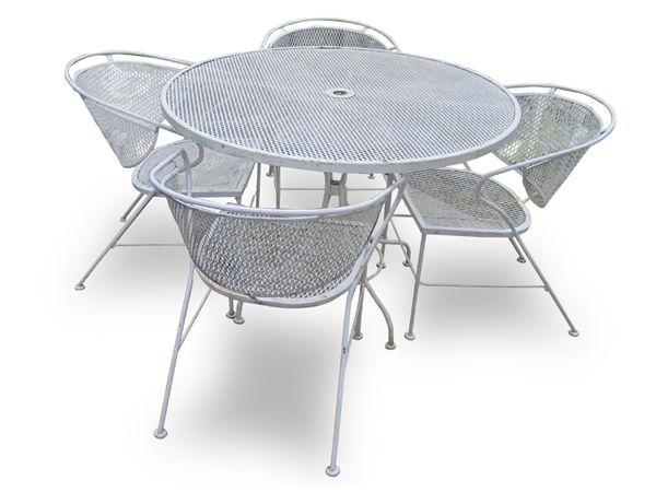 Vintage Patio Furniture Mid 70u0027s, Early 80u0027s; Wrought Iron: Just Pick This  Exact Part 74