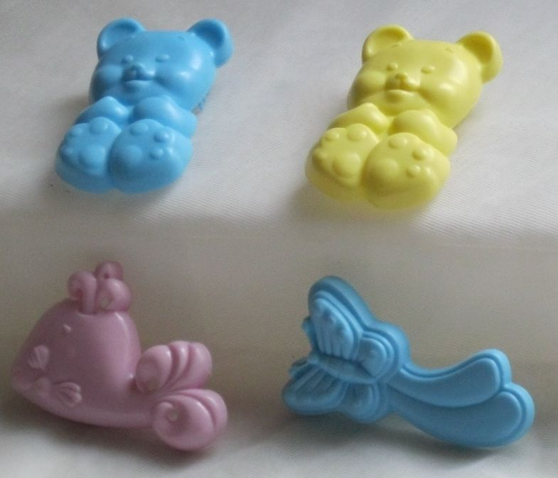 MY LITTLE PONY G1 BRUSH SEA PONY LAVENDER Whale yellow & blue Teddy Butterfly