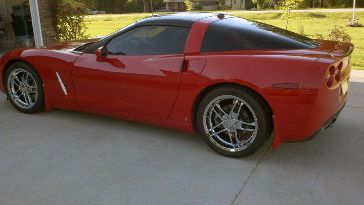 Corvette C6 Z06 Style Wheels Corvette Wheels C6 Corvette Wheels Little Red Corvette