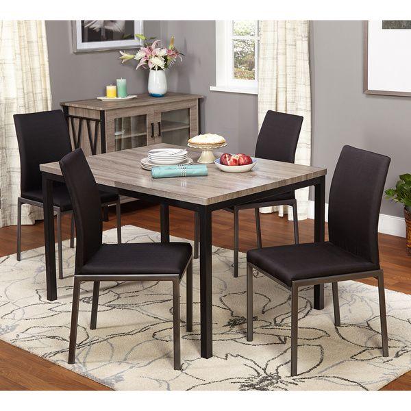 Simple Living Room Furniture Big: Simple Living Harrison 5-piece Dining Set