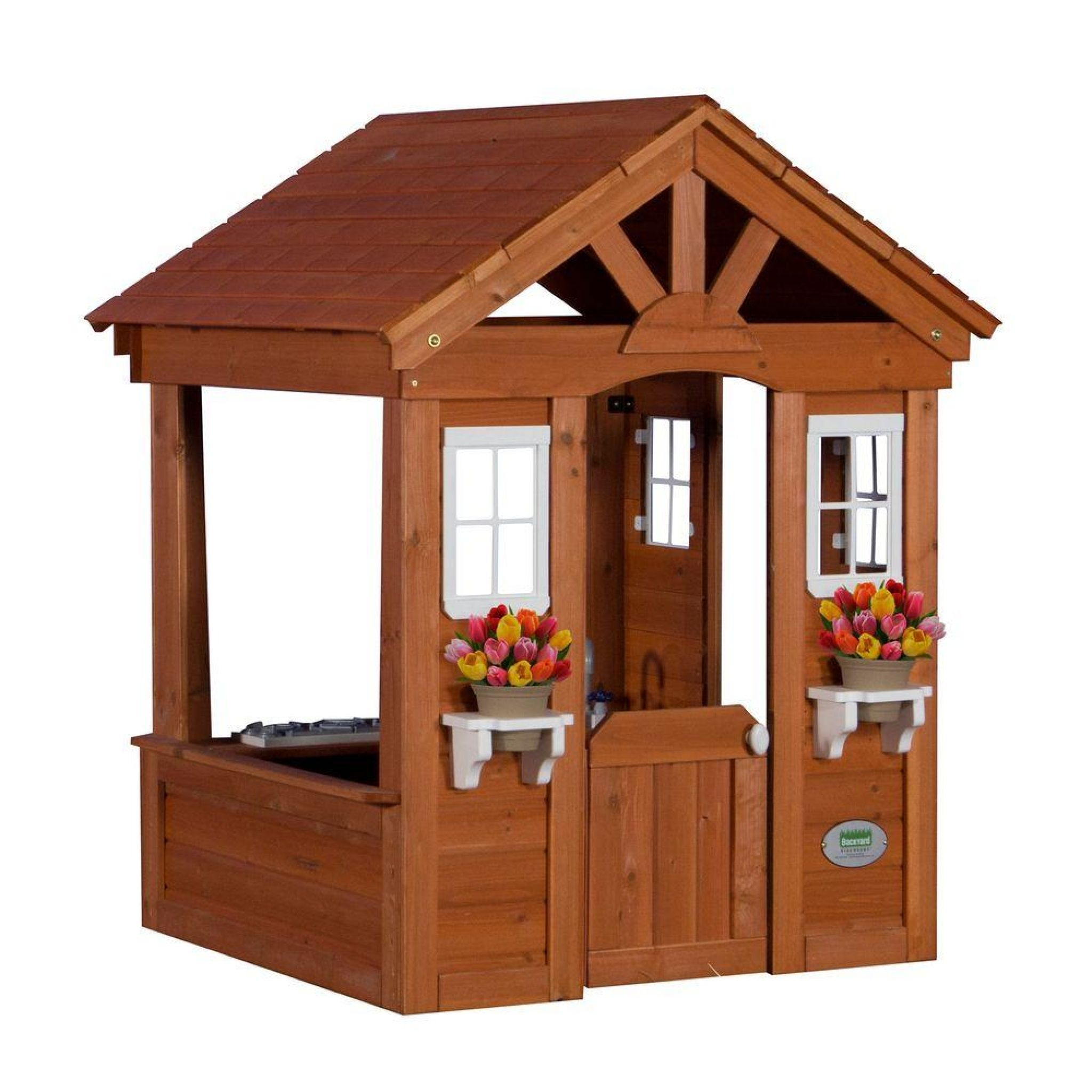 Gentil Outdoor Playhouse With Kitchen   Best Interior Paint Brand Check More At