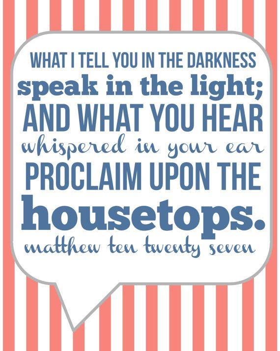 Proclaim Truth!