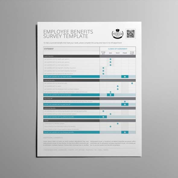 Schooling Evaluation Survey Template CMYK \ Print Ready Clean - product survey templates