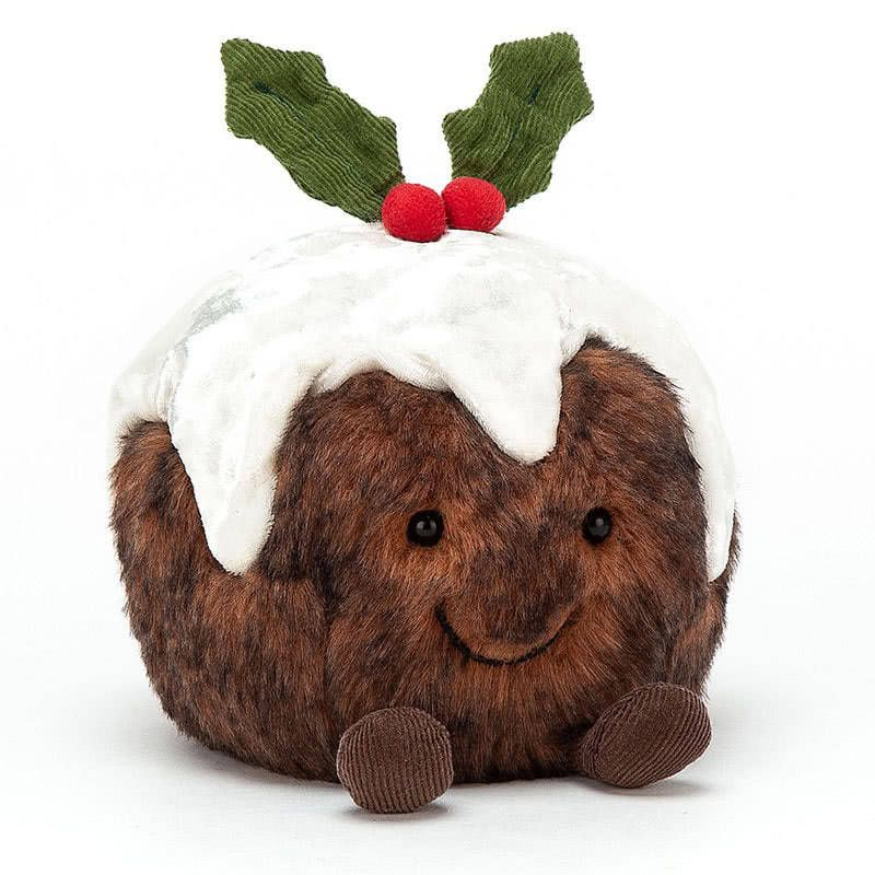 Introducing Amuseable Christmas Pudding By Jellycat Coming With