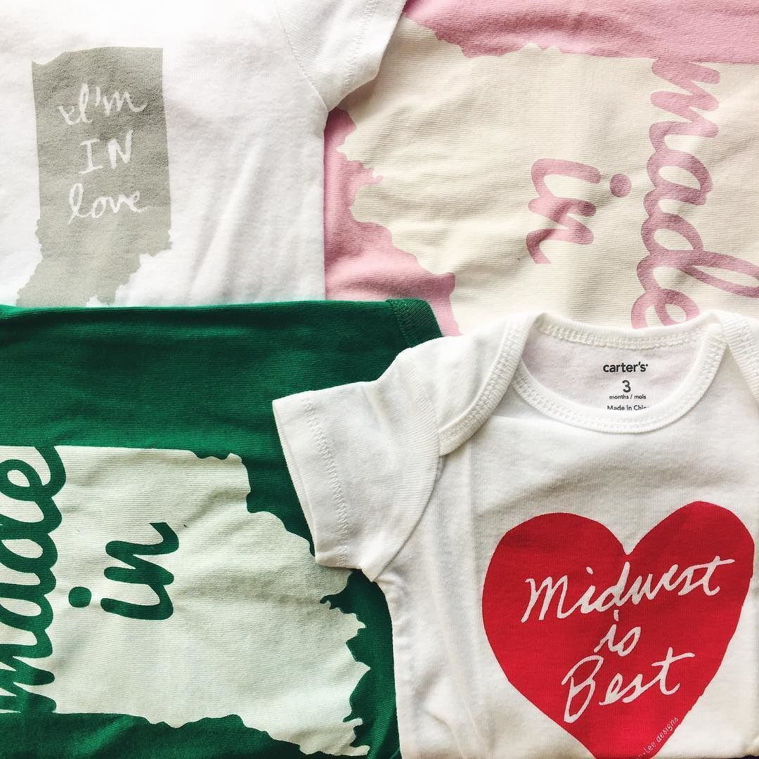 Indiana baby onesies are back! Stop in and get one for Christmas ...