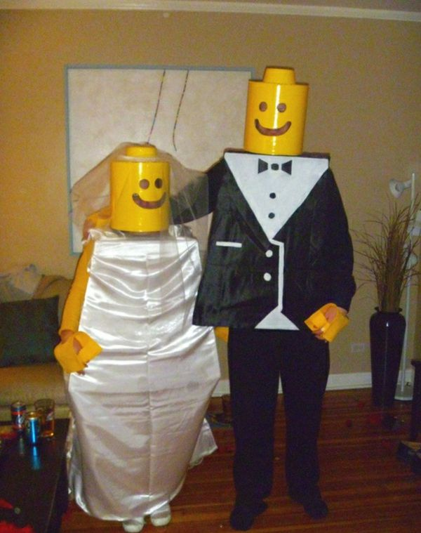 100 unique selbstgemachte Kostüme - tolle DIY Kleidung Costume - best halloween costume ideas for couples