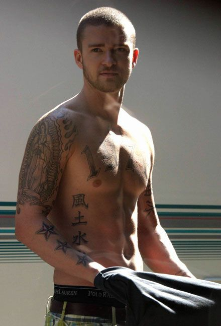 04cacd059 Tatum: Is Justin Timberlake lobbying to be our most shirtless actor