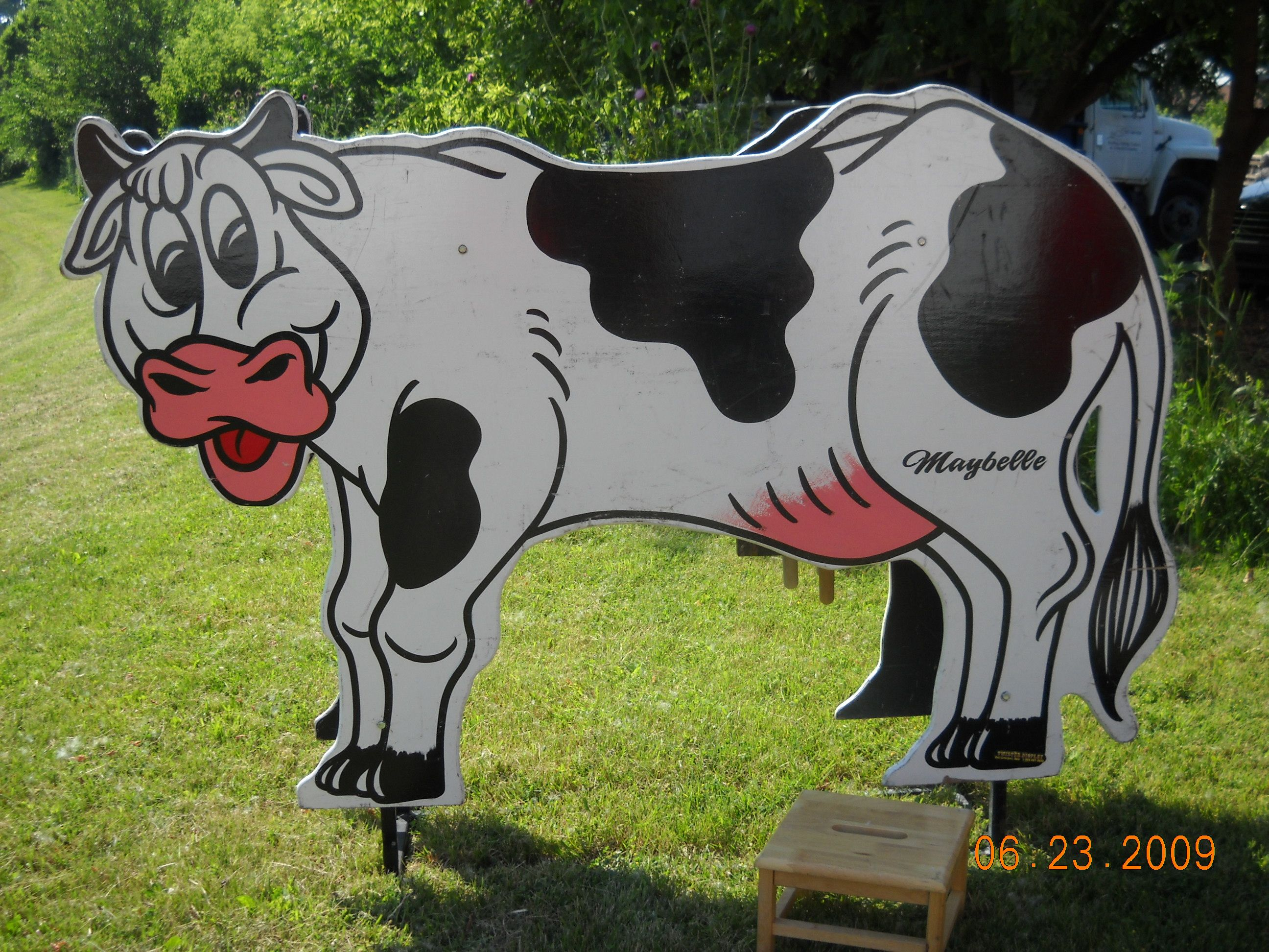 Cow milking contest chicago party rentals carnival game