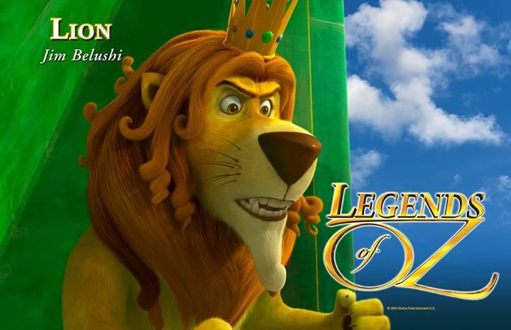 I like the cowardly lion from legends of oz dorothys