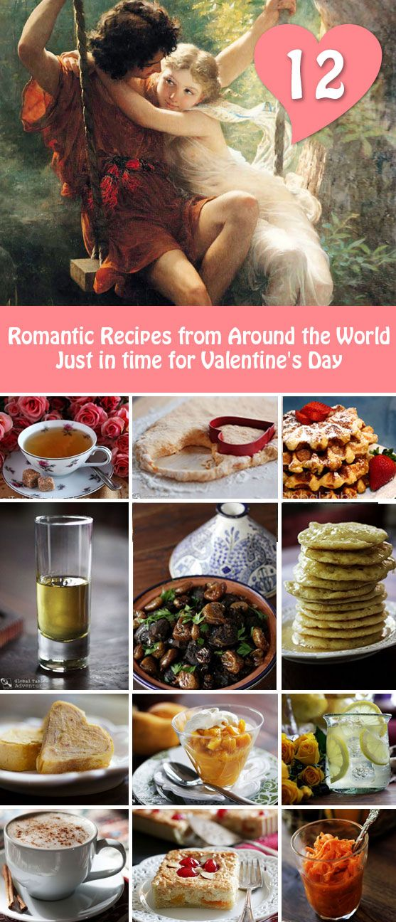 Romantic Foods For The Bedroom: 12 Romantic Recipes From Around The World, Just In Time