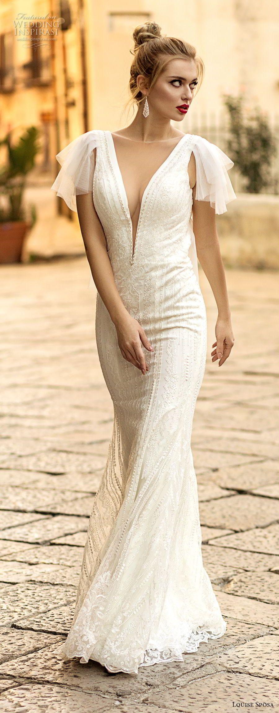 Louise Sposa 2018 Wedding Dresses Vestido casamento