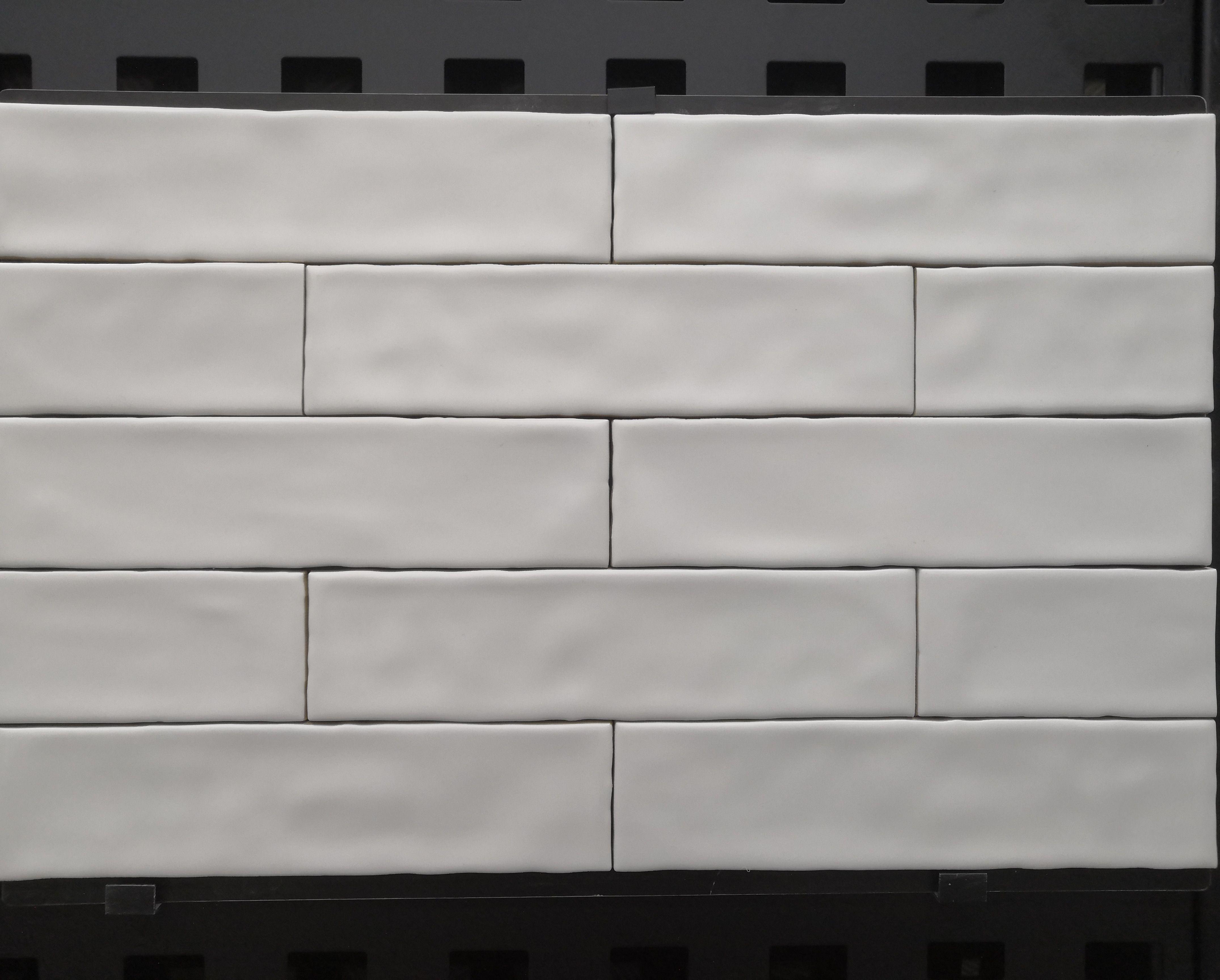 Wavy Edge Subway Tile Subway Tile Ceramic Wall Tiles Handmade Tiles