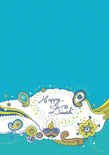 Diwali scrapbook paper Happy Diwali