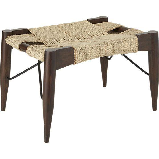 "Ottoman Coffee Table Cb2: CB2 - 24""W X 16.5""D X 15.75""H"