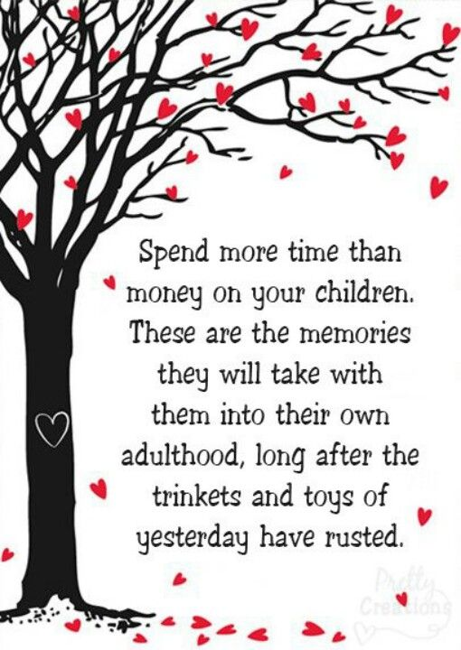 Spend Time With Your Wife Quotes: Spend More Time With Your Children Than Money..
