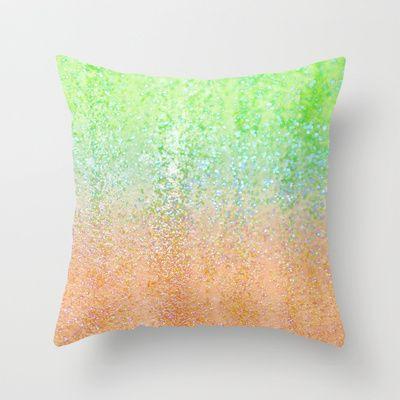 Summer Rain Tropic Throw Pillow by Lisa Argyropoulos - $20.00