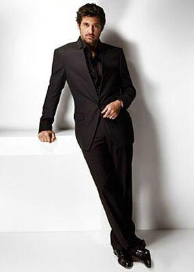 Patrick Dempsey Suits Up In Versace Suit Up Patrick Dempsey