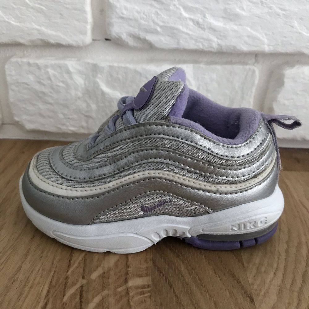 new concept 0be0f e3d71 OG 2006 Nike AirMax 97 Purple Silver Baby Shoes size 5c Jordan AWESOME 1 97   fashion  clothing  shoes  accessories  babytoddlerclothing  babyshoes  ad  (ebay ...