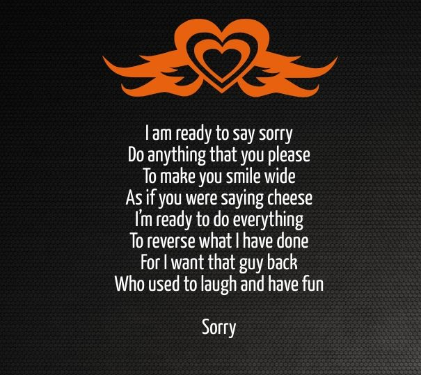 sorry poems for hurting her him | Cute Love Quotes for Her ...