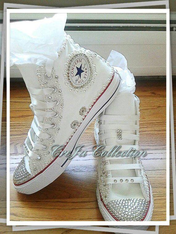 Bridal Converse b69668fa8f