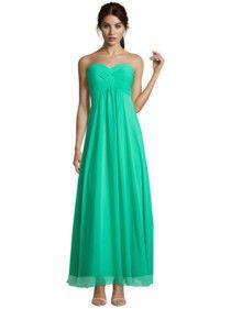 9ca5201b0d5f14 LAONA Abendkleid mit Raffungen am Oberteil Grün - Cocktailkleider Online,  Oberteile, Abendkleid, Damen