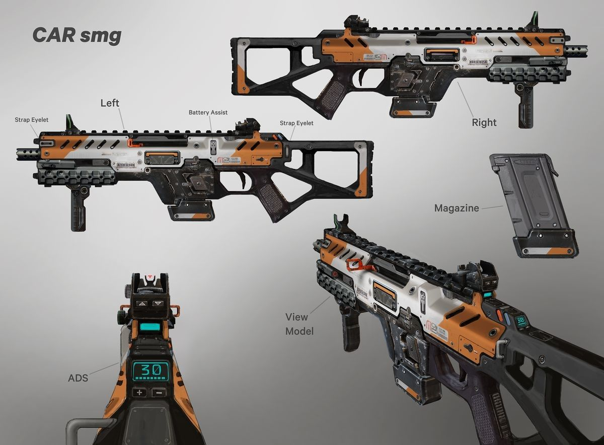 Titanfall 2 Weapons - Danny Gardner | Gun Room | Weapons, Guns
