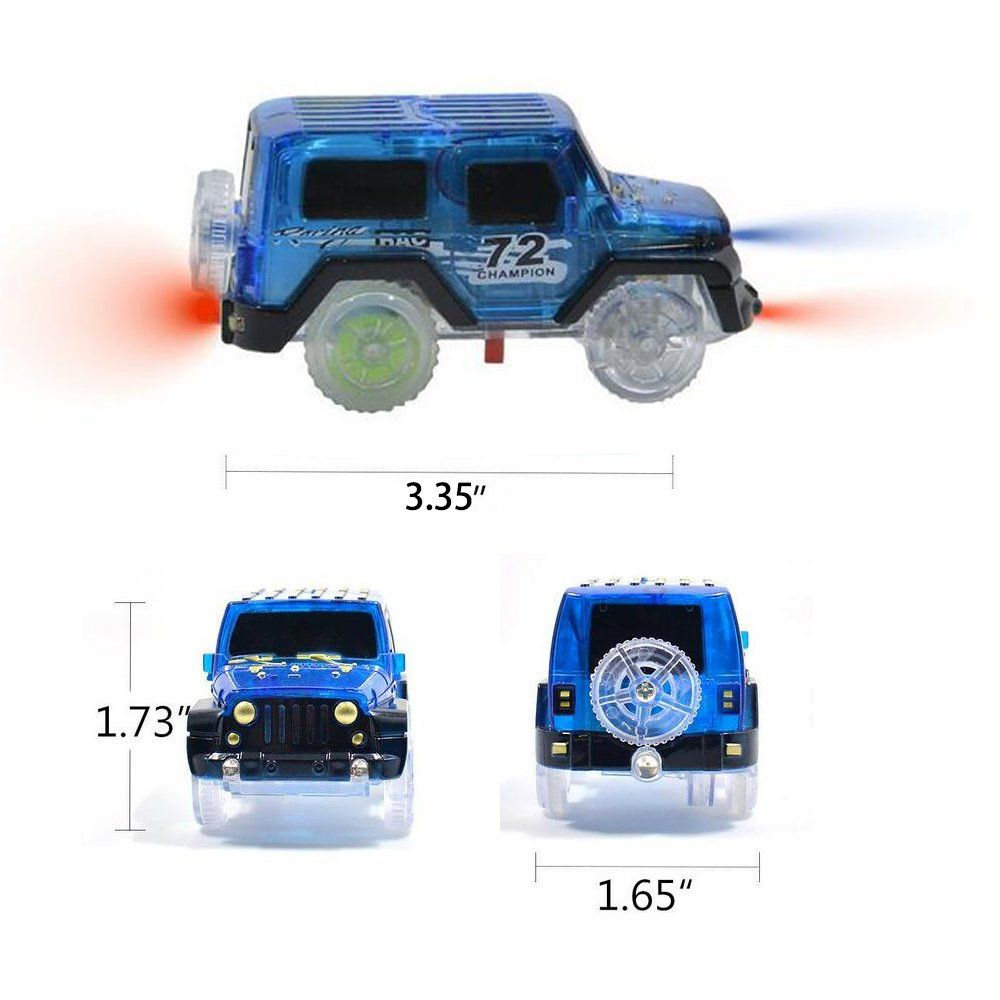 Ondream Magic Tracks Cars Replacement Car Light Up Accessories Toys Track Racing Cars Boys Gifts 3 Pack 3 Pack Visit The Imag Replacement Car Toys Track Car