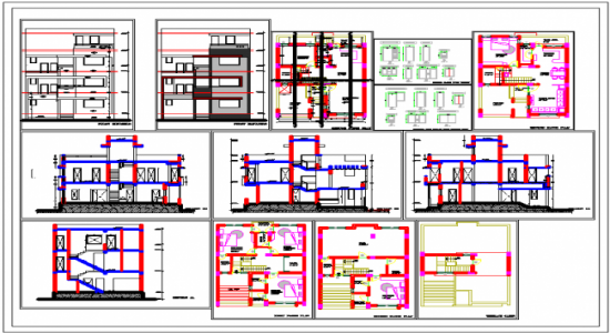 Autocad File House Plan Open House Plans House Plans Modern House Plan