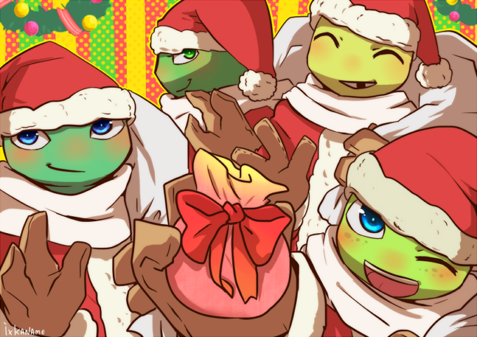 tmnt --- I know it isn't Christmas or New Years, but they r adorable!