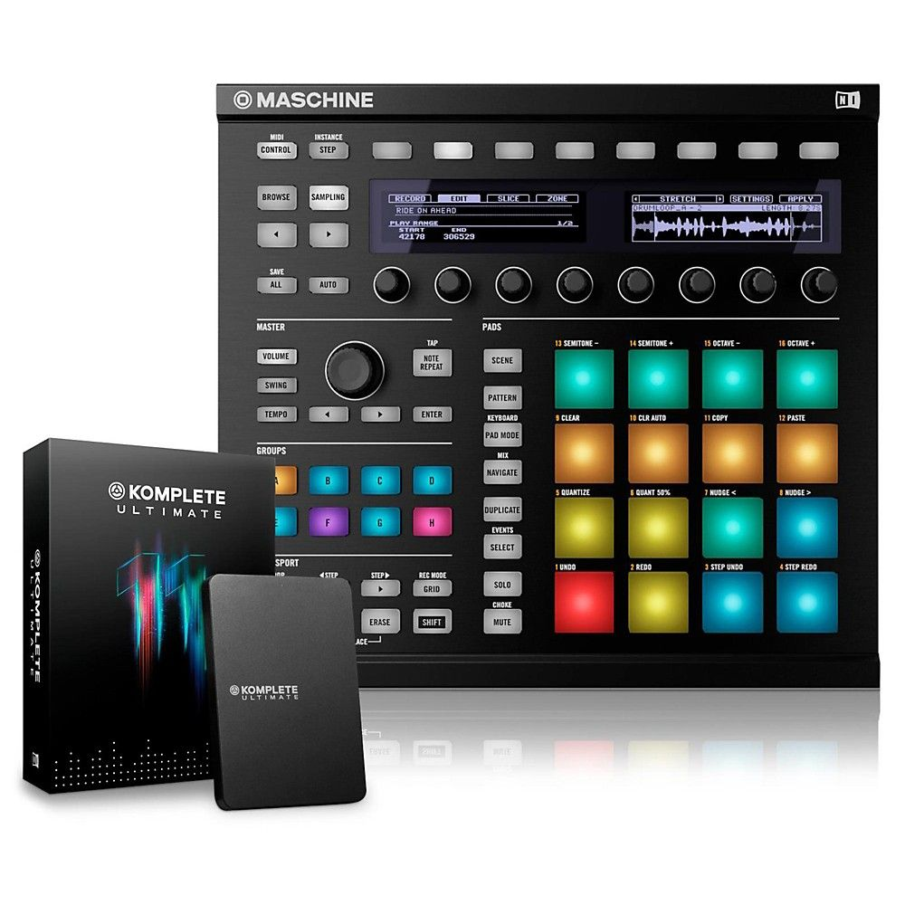MASCHINE MK2 with KOMPLETE 11 Ultimate | Products | Native
