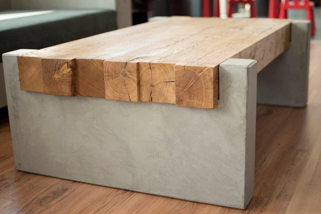 Design 40 Zum Einfahrtstor Holz Selber Bauen Betontisch Holztisch Couchtisch Eiche