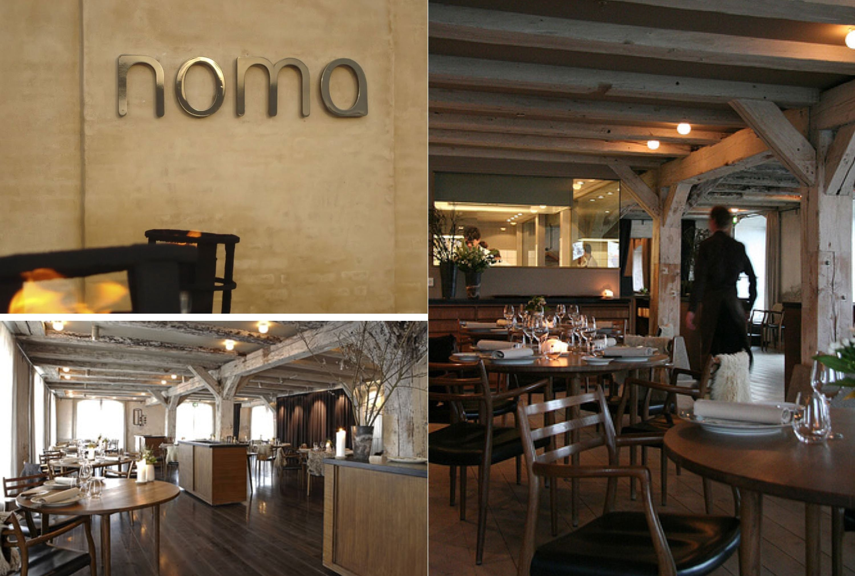 Noma restaurant… in copenhagen… its th century interiors