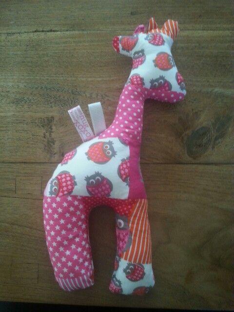 Meisjes giraffie