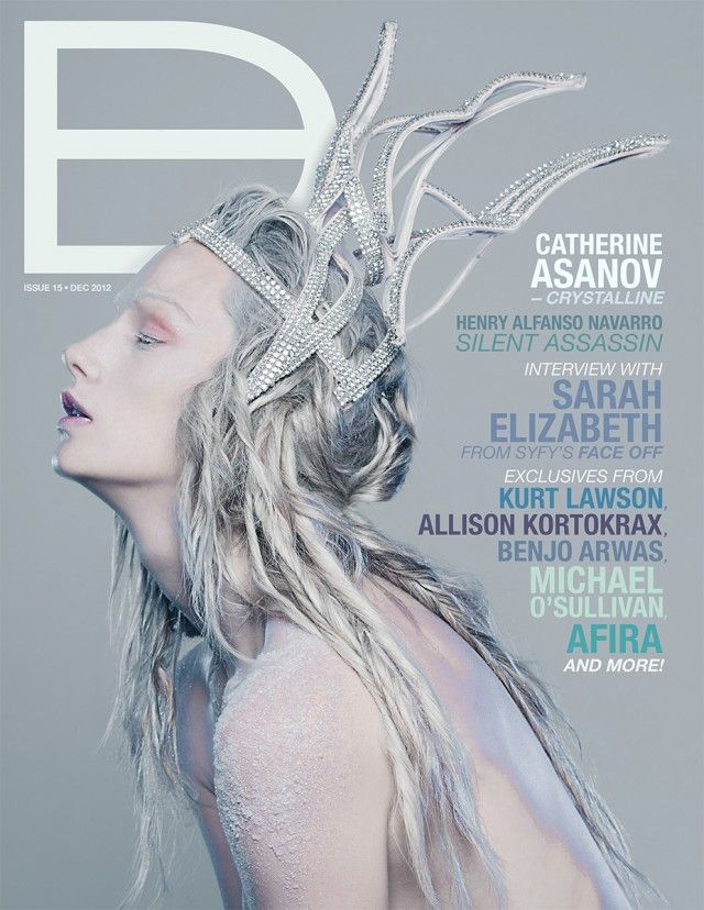 Dark Beauty Magazine - ISSUE 15 - FROZEN cover