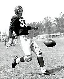 01416dbb Sammy Baugh was also a great punter for the Washington Redskins ...